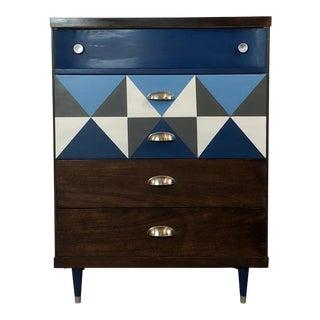 Vintage Mid-Century Modern Bassett Dresser