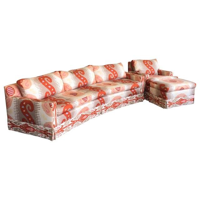 Martin Brattrud Ikat Sofa - Image 1 of 9