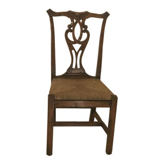 Robert Allen Chippendale Side Chair (Have Additional Identical Chairs for Also for Sale)