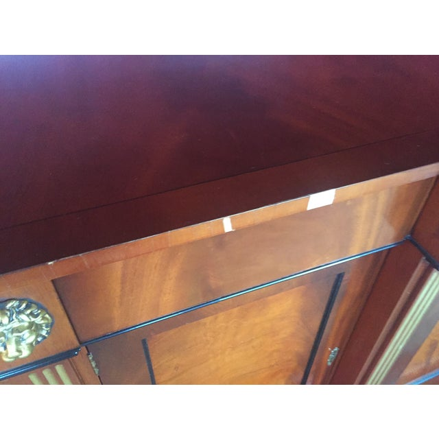 Flame Mahogany Side Cabinet - Image 9 of 10