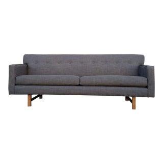 Mid Century Style Dark Gray Sofa