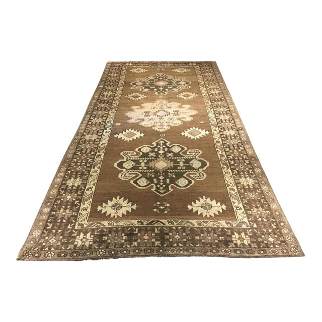 "Image of Bellwether Rugs Turkish Oushak Runner- 5'3"" X 10'11"""