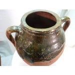 Image of Rustic Ceramic Olive Oil Jar