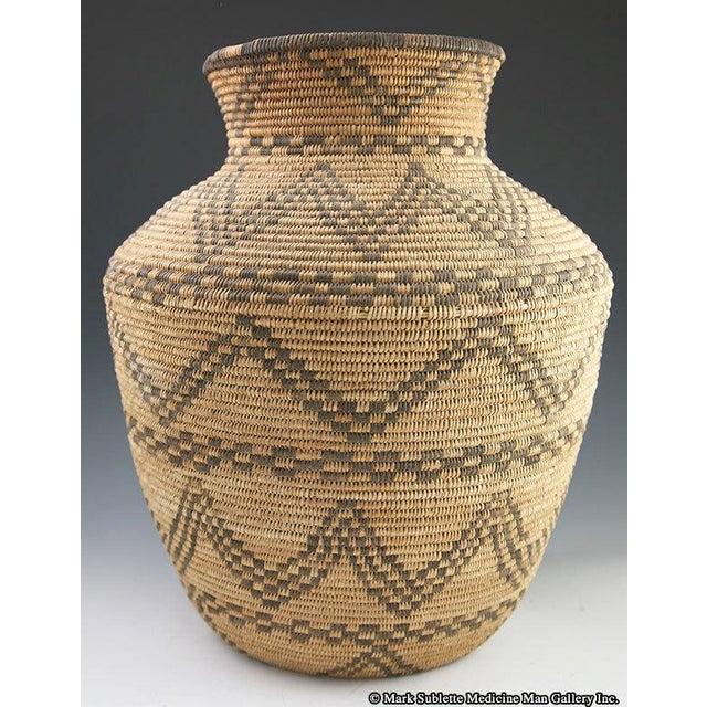 Apache Basketry Olla, circa 1890 - Image 2 of 7