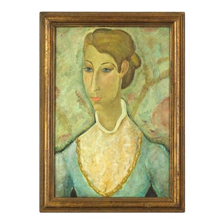 Early 20th Century Expressionistic Portrait