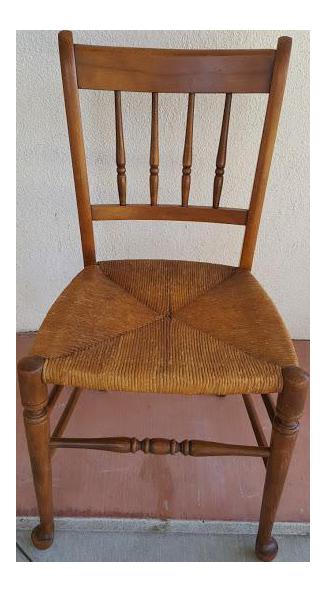 tell city wood chair