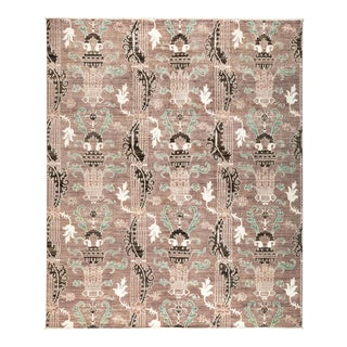 """New Hand Knotted Area Rug - 8'2"""" x 9'8"""""""