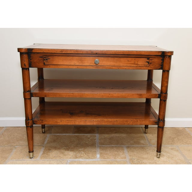 Acquisitions by Henredon Side Table - Image 2 of 9