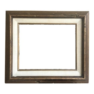 Natural Linen Matted Frame