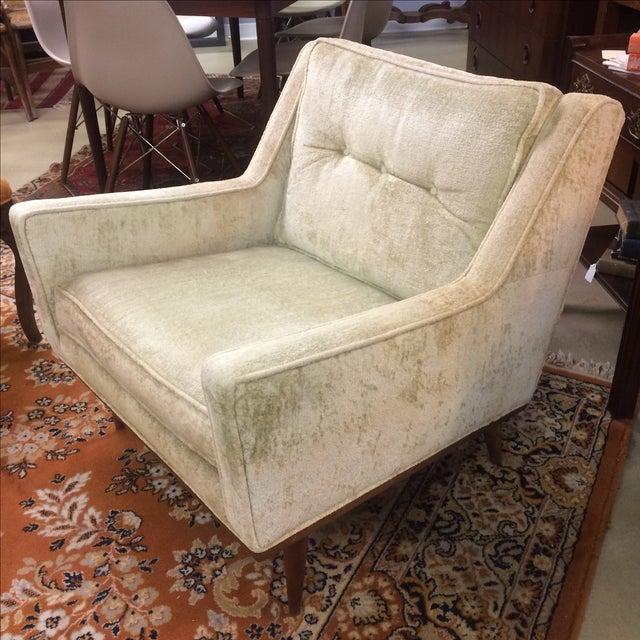Milo Baughman Club Chairs & Ottoman - A Pair - Image 3 of 8