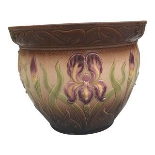 Art Deco Iris Planter