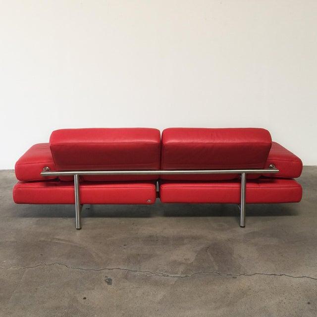 De Sede Ds-460 Multifunctional Sofa Red - Image 6 of 11