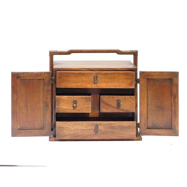 Chinese Rosewood Jewelry Box - Image 4 of 6