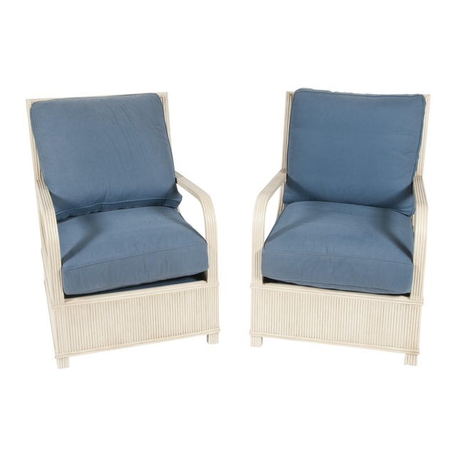 Off White Melbourne Chairs - Pair - Image 1 of 3