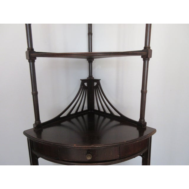 Antique Chippendale Five Tiered Etagere - Image 5 of 11