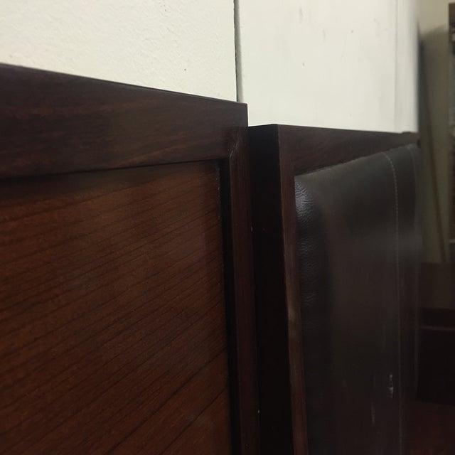 Image of Plummers Queen Bed Frame with Nightstands