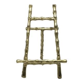 Mini Brass Bamboo Easel