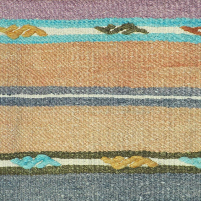 Vintage 1960s Kilim Pillow Cover - Image 3 of 3