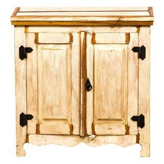 Handmade Reclaimed Wood Two Door Cabinet