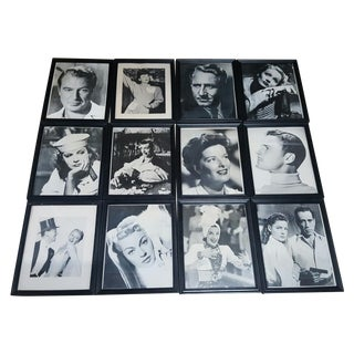 Old Hollywood Glamour Photos - Set of 12