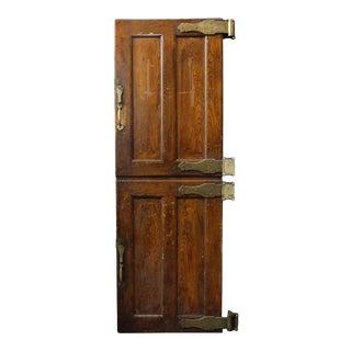 Wooden & Bronze Refrigerator Doors