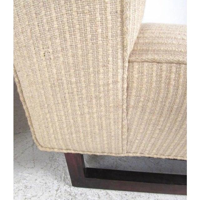 Vintage Modern Sled Leg Slipper Sofas - A Pair - Image 8 of 10