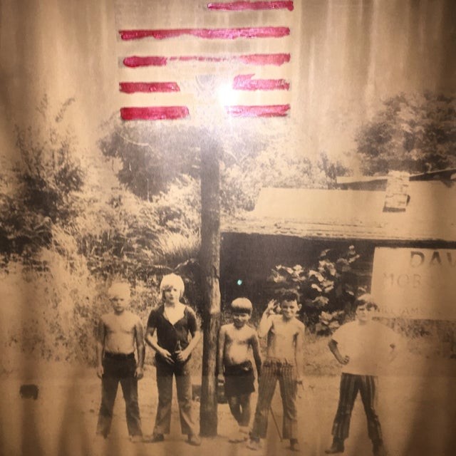 American Boys in the 70's Framed Painted Photo - Image 4 of 4