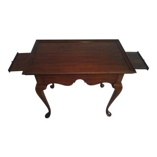 Pennsylvania House Solid Cherry Queen Anne Side Table
