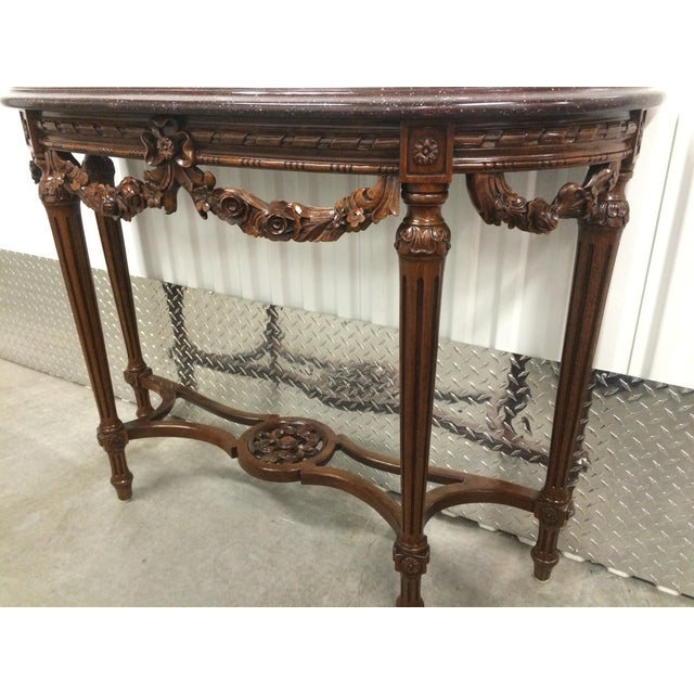 Maitland-Smith Carved Entry Table - Image 10 of 10