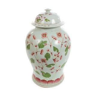 Chinese Beautiful 19th century Porcelain Ginger Jar