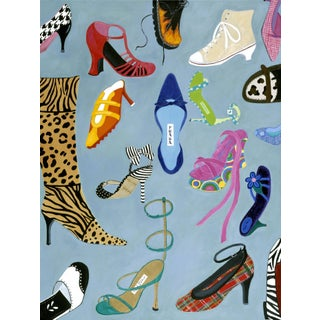 From Prada to Jimmy Choo Shoe Lovers Painting