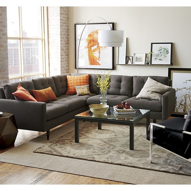Crate barrel meryl arc lamp chairish for Crate and barrel arch