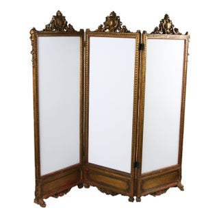 Antique French Screen Circa 1880