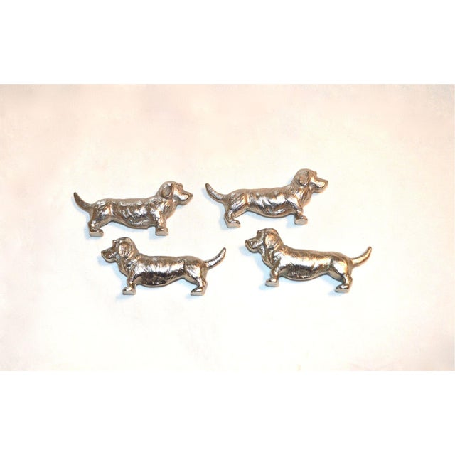 Bassett Hound Knife Rests, France, Set of 4 - Image 10 of 10
