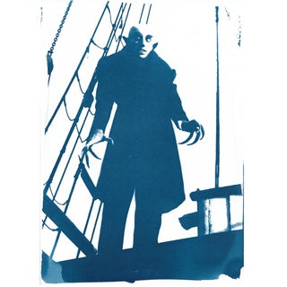 Cyanotype Print - Nosferatu Vampire Film Still