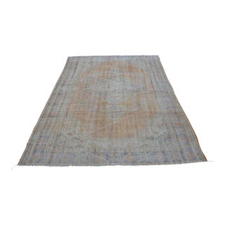 Antique Anatolian Vintage Faded Rug - 5′9″ × 8′1″