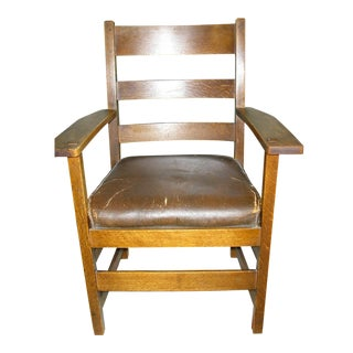 Early 20th-C. Stickley Dining Armchair