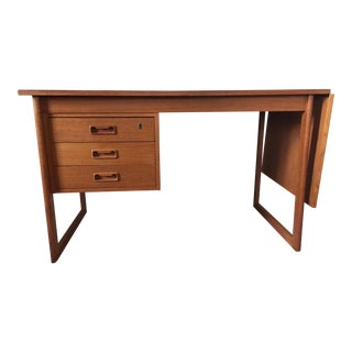 Danish Teak Vi-Ma Drop Leaf Desk