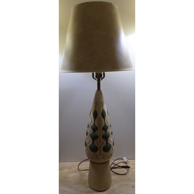 Image of Retro 70s Style Table Lamp