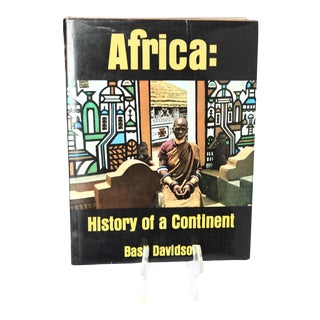 "1966 Basil Davidson ""Africa: History of a Continent"" Book"