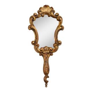 Antique Italian Gold-Leaf Mirror