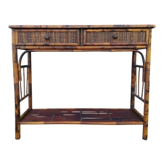 Bamboo & Reed 2-Drawer Console Table