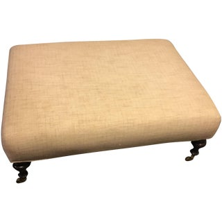 Reupholstered Ottoman, Williams-Sonoma Home