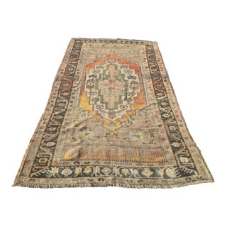"Vintage Turkish Anatolian Runner - 4'7"" X 9'1"""
