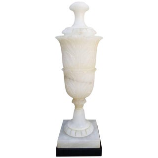 Large-Scale Alabaster Table Lamp
