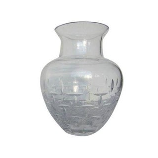 Tiffany & Co Crystal Glass Vase