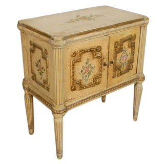 Louis XVI Styled Night Stands - A Pair