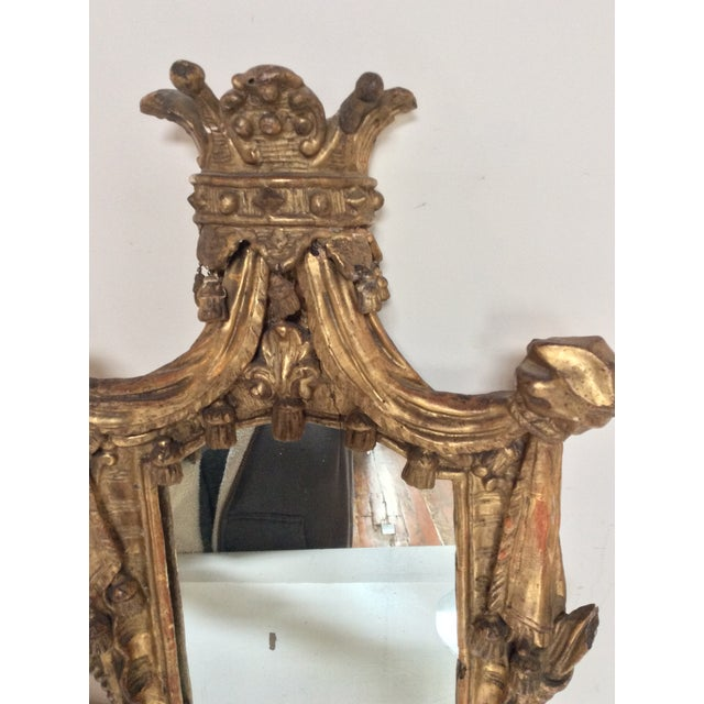 18th Century French Tassel Mirror - Image 10 of 11