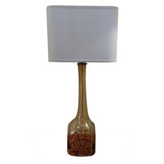 Sculptural Murano Glass Table Lamp