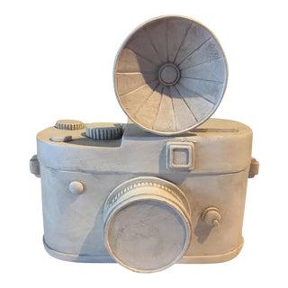 Vintage White Camera Box
